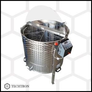 Cassette honey extractor with 6 frames