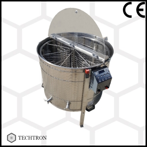 Cassette honey extractor with 8 frames